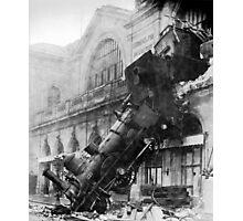 Train wreck Photographic Print