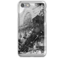Train wreck iPhone Case/Skin