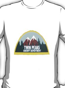 twin peaks sheriff department case T-Shirt