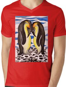I CHOOSE YOU - PENGUIN LOVE Mens V-Neck T-Shirt