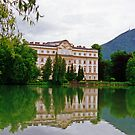 Schloss Leopoldskron, Salzburg, Austria by Margaret  Hyde