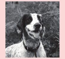 Dog portrait, spaniel in bracken One Piece - Long Sleeve