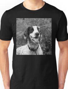 Dog portrait, spaniel in bracken Unisex T-Shirt