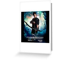 Alec Lightwood - Official Poster Greeting Card