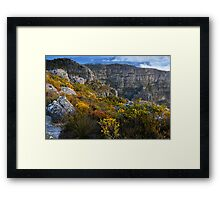 Top of Table Mountain Framed Print