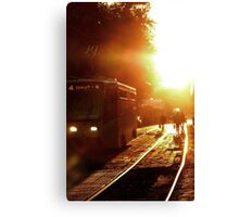 18:00 local time Canvas Print