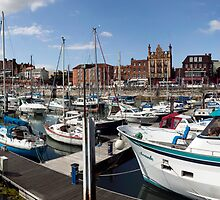 Ramsgate Royal Harbour and Marina by John Gaffen