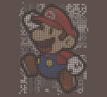 Pixel Mario by pruine