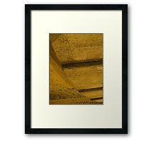 Projection: Vertigo Framed Print