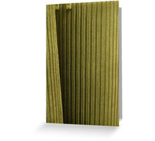 Green fuse Greeting Card
