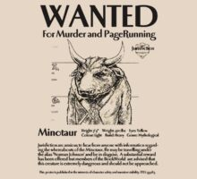 Wanted minotaur by pruine