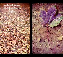 every leaf speaks of bliss to me by Sybille Sterk