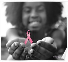 Breast Cancer Awareness Cure2 Poster