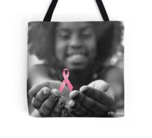 Breast Cancer Awareness Cure2 Tote Bag