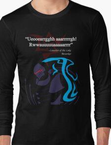 Berserker Quote Long Sleeve T-Shirt