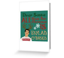 Christmas Stiles Greeting Card