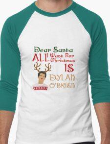 Christmas Stiles Men's Baseball ¾ T-Shirt