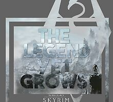 The Legend Yet Grows by Tabychan