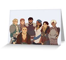 Dragon Age II Greeting Card