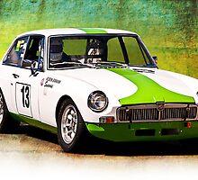 1970 MGB GT by Stuart Row