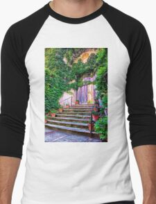 Entering Into Paradise Villa Cimbrone Men's Baseball ¾ T-Shirt