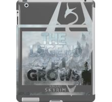 The Legend Yet Grows iPad Case/Skin