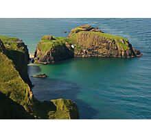 Carrick-a-Rede Rope Bridge Photographic Print