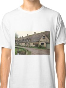 Pretty Cottages All in a Row Classic T-Shirt