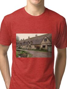 Pretty Cottages All in a Row Tri-blend T-Shirt