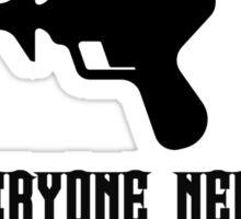 IndieSFF Rayguns & Robots  Sticker