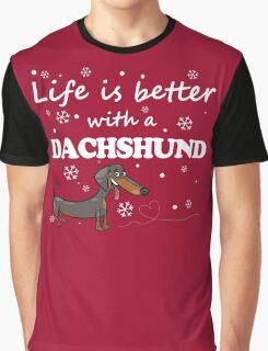 Dachshund_Better Graphic T-Shirt