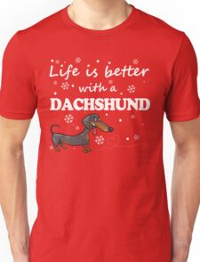 Dachshund_Better Unisex T-Shirt