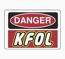 Danger KFOL Sign by Chillee Wilson, Customize My Minifig by ChilleeW