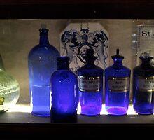 Old herbal jars by TheLondonphile