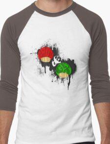 Grow Up and Get a Life Dark Men's Baseball ¾ T-Shirt