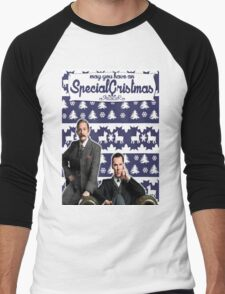 May you have an SPECIAL Xmas [Johnlock] Men's Baseball ¾ T-Shirt