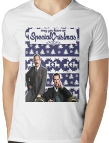 May you have an SPECIAL Xmas [Johnlock] Mens V-Neck T-Shirt