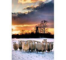 Merry Christmas ( Italian ) Photographic Print