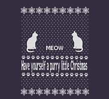Have yourself a purry little Christmas Long Sleeve T-Shirt
