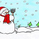 Snowman Fun!  by daphsam
