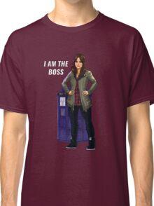 Clara Oswald - I Am The Boss Classic T-Shirt