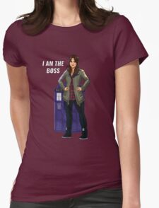 Clara Oswald - I Am The Boss Womens Fitted T-Shirt