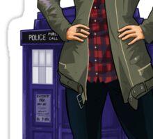 Clara Oswald - I Am The Boss Sticker