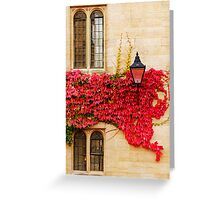 Autumn in Oxford Greeting Card