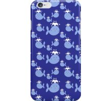 Cute Blue Whale Pattern iPhone Case/Skin