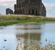 Whitby Abbey Ruins Sticker