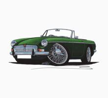 MG B Roadster British Racing Green by Richard Yeomans