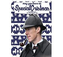 Sherlock Xmass Photographic Print