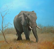 Elephant by Carole Russell