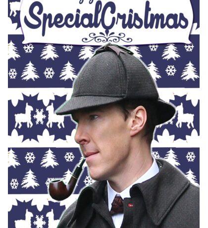 Sherlock Xmass Sticker